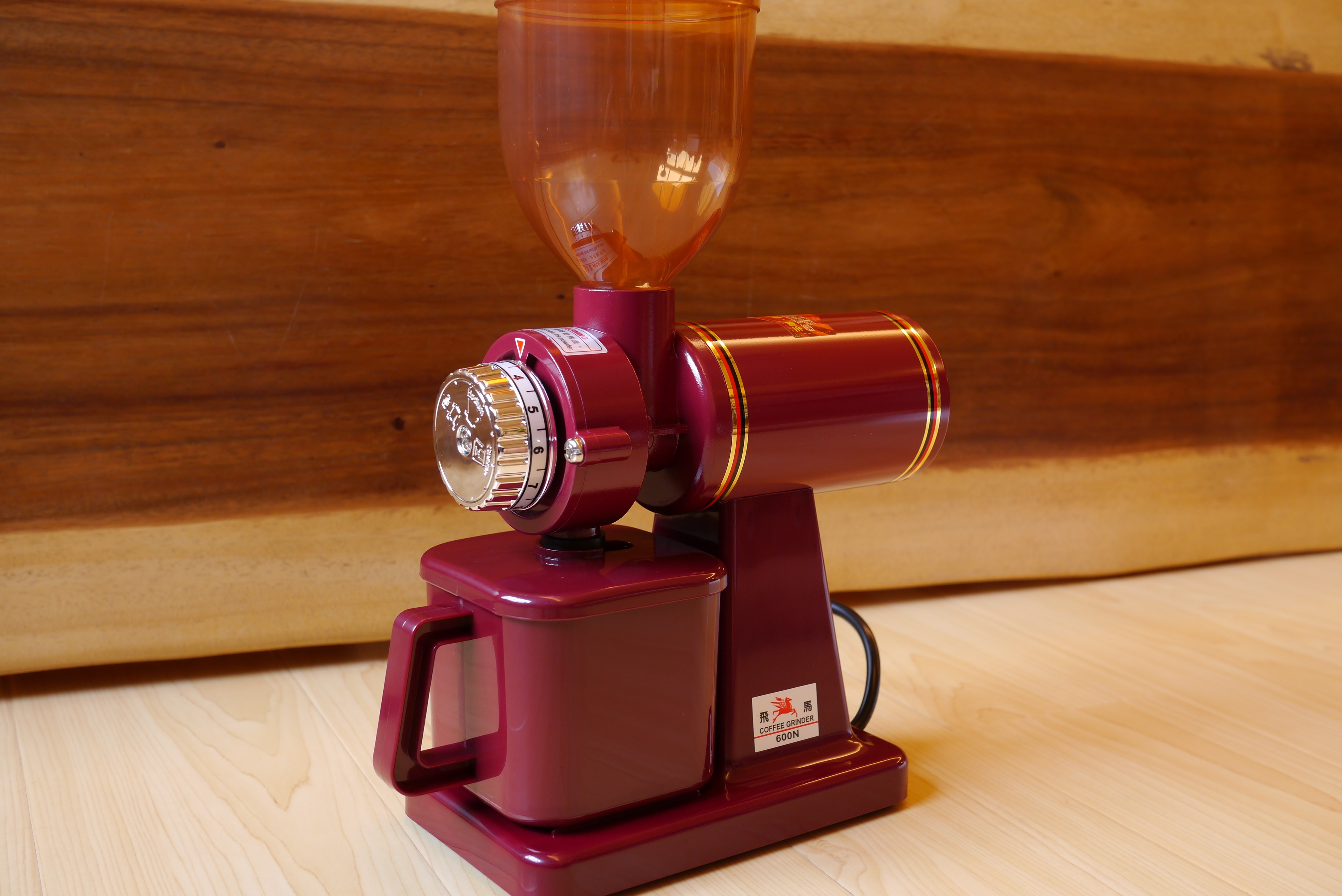 小飛馬咖啡電動磨豆機(飛馬牌) 600N