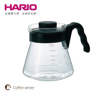 【HARIO】V60好握02黑色咖啡壺 700 c.c / VCS-02B