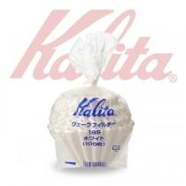日本製 KALITA 185 蛋糕型 白色波浪咖啡濾紙 1-4人份-100入