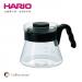 【HARIO】V60好握01黑色咖啡壺450 c.c / VCS-01B